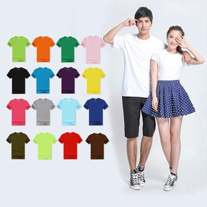 2021 Summer High Quality 18 Color S 3XL Plain T Shirt Men Cotton Elastic Basic Tshirt Woman Men Casual Tops Short Sleeve