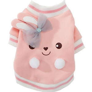 Cartoon Dog Hoodie Winter Pet Dog Clothes For Dogs Coat Jacket Cotton French Bulldog Clothing For Dogs Pets Clothing