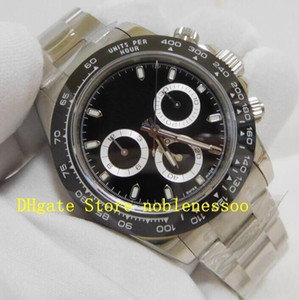 16 Style Swiss CAL.4130 Movement Men's 40mm Steel Mens Black White Chrono Watch 116520 116519 116500LN 116500 Automatic ETA Mens Watches