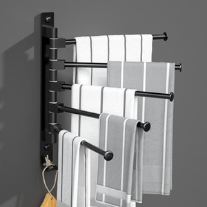Towel Holder Porte Serviettes Salle Bain Kitchen Bathroom Toalha Banheiro Toallero Adhesivo Towel Rack Accroche Torchon Mural