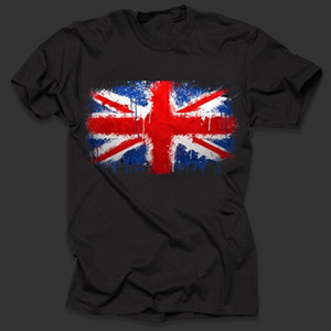 Great Britain British Flag T-Shirt Stylish Tee Shirt