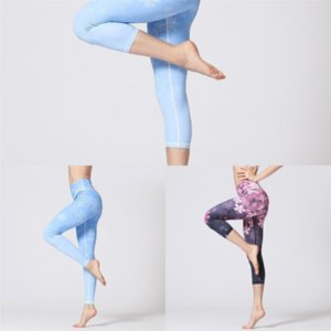8 pz modal Quick Color Womens Yoga Pants Candy Wide Bein Fit Yoga Hose Trockene Schwarz Power Flex Leggings Slim Cotton Hohe Taille Fitness-Fitnessstudio