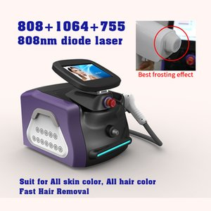 Taşınabilir Diod Lazer 755nm 808nm 1064nm Lazer Epilasyon Makinesi 808nm Epilasyon Lazer Makinesi Güzellik Salonu