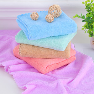 35*75cm high quality Dry hair towel coral velvet towel water absorption soft quick dry face and hand adult and children towel