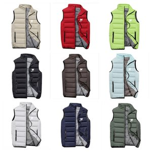 Winter Design HH Padded Jackets Sleeveless Coat Adult Teems Quilted Wadded Zipper Waistcoat Vest Designer Outwear Casual Tops Cloth E120203