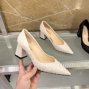 Die Braut Brautjungfer Hohe Kapelle Ferse Sandalen Frauen Kleid Schuhe Plaid Hairball Designer Schuhe Hochzeits Party Beruf Sexy Sandale Große Größe