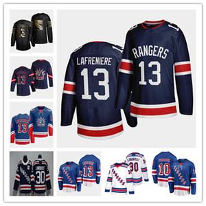 2021 NY Rangers Reverse Retro Hockey Jersey Alexis Lafreniere Panarin Igor Shesterkin Braden Schneider Chris Kreider Ryan Strome Trouga