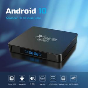 X96Q PRO Android 10.0 TV Box Allwinner H313 Quad Core 2.4G 5G Wifi 2GB 16GB 4Kx2K HDR X96Q Set top box
