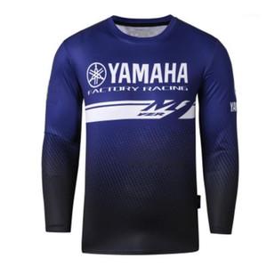 Motosiklet YZR M1 Motosiklet Motocross Moto GP Formalar Binicilik Erkekler Nefes T Gömlek Giysileri için Nefes1