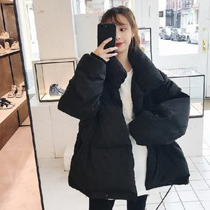 2021 New Women winter short bread Korean jacket double breasted version versatile temperament cotton coat 3SH9
