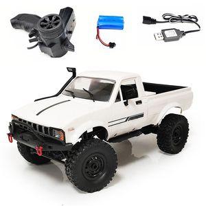 2020 Newwst WPL C24 Upgrade C24-1 1:16 RC Car 4WD Radio Control Off-Road Mini Rc Car RTR KIT Rock Crawler Electric Buggy Moving Machine