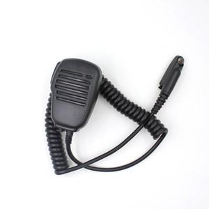 Original Mic-M5 Microfone Handheld para Anysecu G22 G25 F22 F25 Motolora GP328Plus GP338Plus Walkie Talkie Duas Camisas Rádio