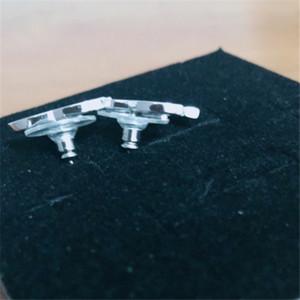У марок моды алмазные серьги обруч Aretes Orecchini для леди женщины вечеринка свадебные влюбленные подарок вовлечение украшения для невесты