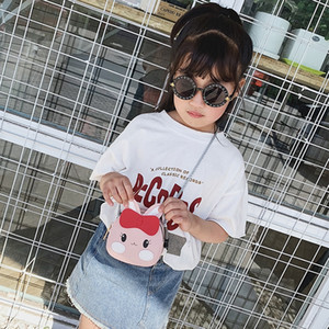 CFCg Vieeoease Cute Fashion Girls Shoulder Designer 2020 Transparent Kids Bag Purse Handmade PU Bag Bag Summer CC-713 Idubc