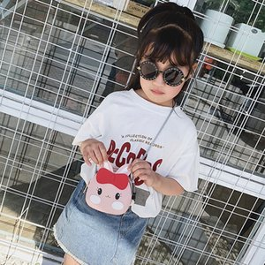 Summer Purse Shoulder CC-713 Girls Designer Kids Bag CFCg 2021 Vieeoease Handmade PU Cute Transparent Fashion Sxppd Bcbnc