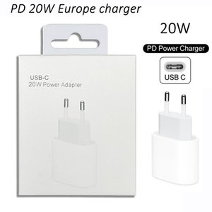 UE / EUA / UK 20W PD carregador rápido para iPhone 12 Pro Max USB adaptador plug para a Apple 11Para Samsung para Huawei