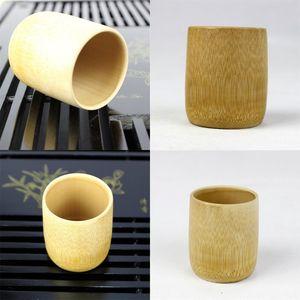 Copa de té de bambú manual Eco Friendly Natural Tumbler Pilar Forma Bardian Tazas Venta bien Nuevo Pattern 3 7CJ J1