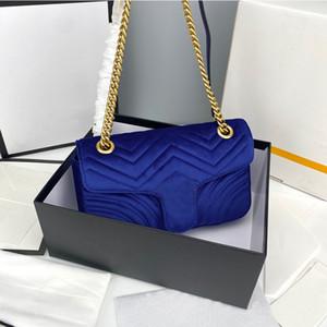 Velvet amor coração v onda padrão bolsa de ombro saco bolsas crossbody bolsa senhora clássico venda quente estilo saco de compras