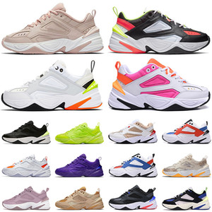 Nike Classic M2K Tekno GEL Paris Pink Dad Sports Denim Camo Ser True TODOS os pretos triplos branco feminino masculino tênis tênis tênis esportivos