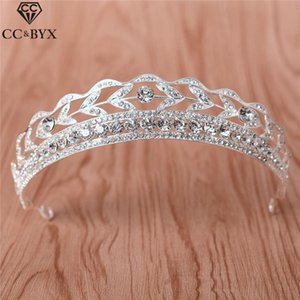 tiaras and crowns hairbands bridal crown forest style shine rhinestone wedding accessories for women jewelry cz stone HG605