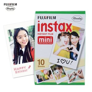 Fujifilm Instax Film Mini White Film Photo Paper Snapshot Album Instant Print 10 20 50Sheets For 7s 8 25 90 Camera