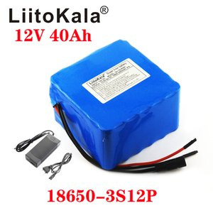 LiitoKala 12V 40Ah 3S12P 11.1V 12.6V Lithium Battery Pack for Inverter Xenon Lamp Solar Street Light Sightseeing Car Etc