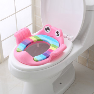 Baby Potty Toilet Trainer Seat Travel Folding Potty Seat Portable Comfortable Toilet Chair Pad Urinal Cushion Toilet Train LJ201112