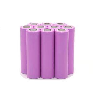 Yeni 3.7 V Li İyon Pil 2600mAh 3C 18650 Lityum Şarj Edilebilir Pil Hücresi E-Bike Pil Paketi için