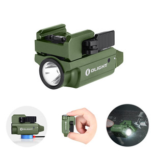OLIGHT OLIGHT PL-MINI 2 OD Green 600 lumens Magnetic Rechargeable Pistol Tactical Weapon Light