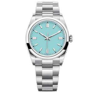 U1_DROPSHipping-Montre de Luxe Mens Автоматы Часы 36 мм из нержавеющей стали Супер светлые наручные часы женщины водонепроницаемые часы