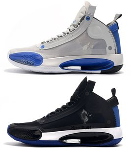 New Arrival basketball shoes for men jumpman 34 34s Blue Void Bred Eclipse SNOW LEOPARD AMBER RISE mens trainers Retro Sports Sneakers