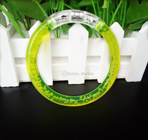Светодиодный блеск Браслет Bracle Bracgle LED Crystal Gradient Color Hand Ring Acrylic Slow Flash Light Sticks Party Dance X WMTAKT BDESYBAG