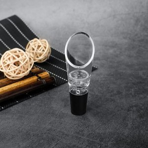 White Red Wine Aerator Pour Spout Bottle Stopper Decanter Pourer Aerating Wines Bottle Pourer Wholesale DWD3198