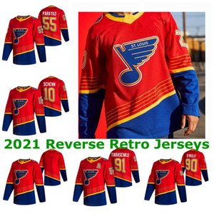 St. Louis Blues 2021 Retro Retro Jerseys Vladimir Tarasenko Jersey 90 Ryan O'Reilly Binnington Colton Parayko Kyru Mens Custom Steinsted