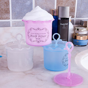 Portable Bubble Foam Maker Soap Blister Facial Cleanser Foam Cup Makeup Remover Body Wash Bubbler for Travel Makeup Tool For Free DHL