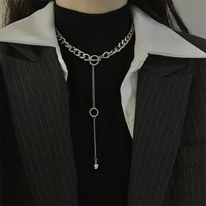 New Style High Quality Long Pendant Choker Fashion Personality Hip-hop Necklace
