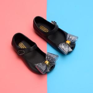 2020 Mini Mini Melissa Jelly Sandals Party Shoes Sandálias Curva Sandálias Menina Boca Princesa Sandálias Confortável Melissa Sapatos LJ200827