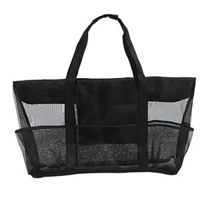Summer Beach Bag Vacation Beach Bag Bath Tote Bag Hollow Mesh Bags