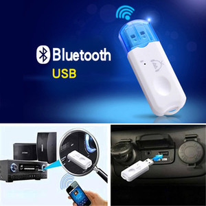 1 Pc New Portable Bluetooth Audio Receiver USB Bluetooth Adapter Plug And Play Car Speaker Bluetooth Call Stereo
