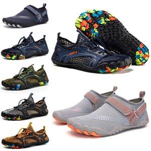 İndirim Erkek Bayan Wading Ayakkabı Platformu Tasarımcı Eğitmenler Üçlü Siyah Tepeli Beyaz Moda Nefes Açık Erkek Kadın Spor Sneakers 36-47
