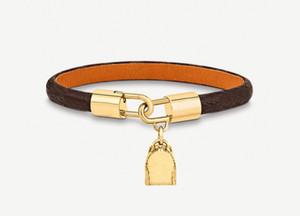 Nueva moda encanto amor pulsera de cuero brazalete brazalete para mujer para mujer fiesta de joyería de boda para los amantes de las parejas Regalo de compromiso con caja