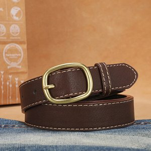 H Hbelts Fashion Leather Metal Belt Business High Quality Women Belts Buckle Double Classic Wholesale 3.5cm Mens Womens Is Width F Cpmdb