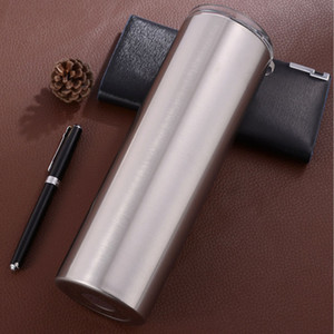 35oz 304 Stainless Steel Cup With Lid Straw Cup Skinny Tumbler Reusable Travel Mug In The Car Water Mug
