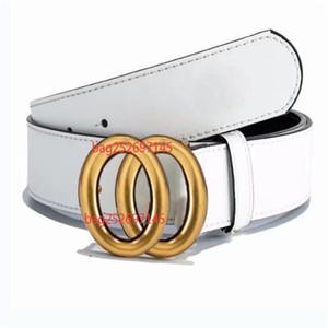 2021 Courroies de marque de mode de luxe pour la ceinture de Mens de la ceinture de la ceinture de haut de la ceinture Pure cuivre Boucle de cuivre Botty Bottity Cuir 125cm