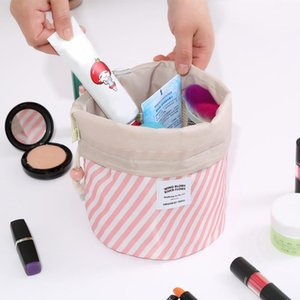 Storage Cosmetic Bag Women Lazy Drawstring Fashion Travel Makeup Bags Organizer Make Up Case Storage Toiletry Pouch 20JAN17