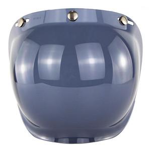 Casco de media cara Moto Burbuja Visera Lente BV01 Face Casco abierto Bubble PC Lente Casco de Motocicleta Visores Anti-UV CASCO MOTO1