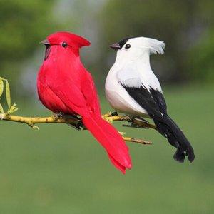 1 шт. Креативное пенопластовое перо искусственные попугаи имитационные птицы модель дома на открытом воздухе сад свадебные украшения орнамент DIY