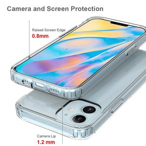 DHL Transport Phone Case For iPhone 11 mini Pro MAX XS XR 8 Plus iphone 12 case TPU Protective Shockproof Clear Case Cover