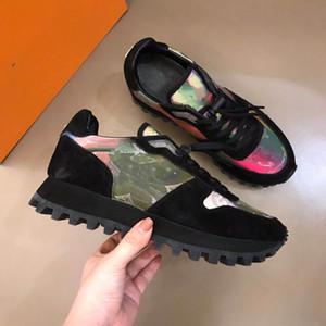 Nuove scarpe casual di sport autunnali e invernali, scarpe da uomo colorate 5d camaleonte sportive da uomo. Dimensioni: 38-44.