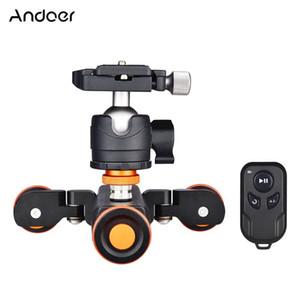 ANDOER L4 Pro Motorized Fotocamera Video Dolly Dolly Photography con telecomando wireless per // Smartphone della fotocamera DSLR